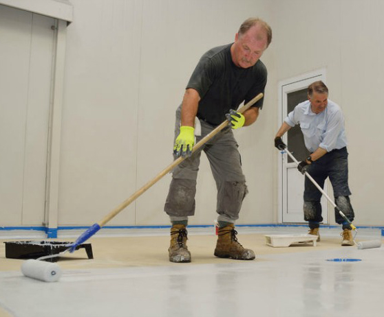 How to apply garage floor epoxy
